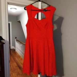 Adorable bright red sweetheart dress size 12 L